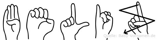 Beliz in Fingersprache für Gehörlose
