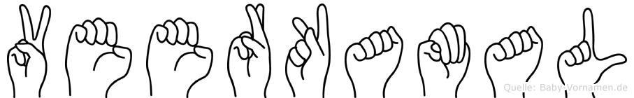 Veerkamal in Fingersprache für Gehörlose