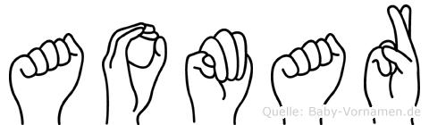 Aomar in Fingersprache für Gehörlose