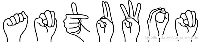 Antuwon in Fingersprache für Gehörlose