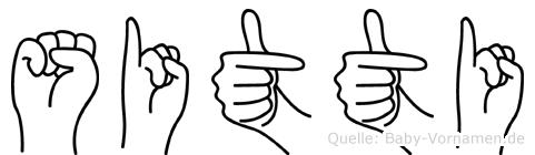 Sitti in Fingersprache für Gehörlose
