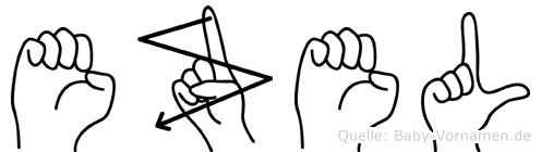 Ezel in Fingersprache für Gehörlose