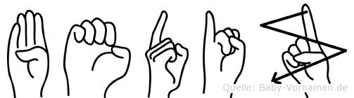 Bediz in Fingersprache für Gehörlose