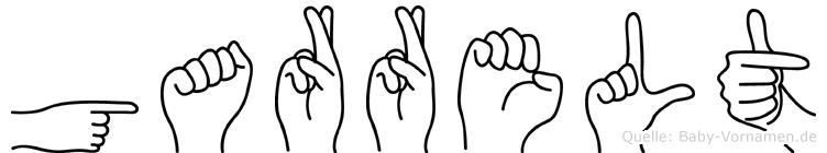 Garrelt in Fingersprache für Gehörlose