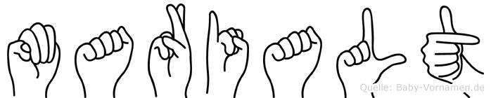 Marialt in Fingersprache für Gehörlose