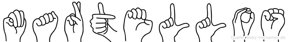 Martellos in Fingersprache für Gehörlose