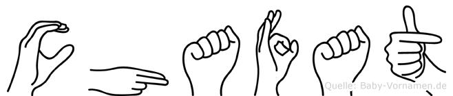 Chafat im Fingeralphabet der Deutschen Gebärdensprache