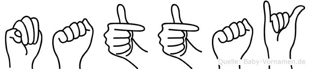 Mattay in Fingersprache für Gehörlose