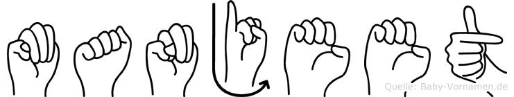 Manjeet in Fingersprache für Gehörlose