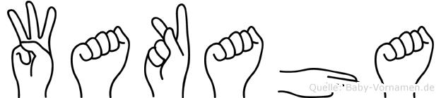 Wakaha in Fingersprache für Gehörlose