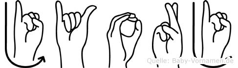 Jyorj in Fingersprache für Gehörlose