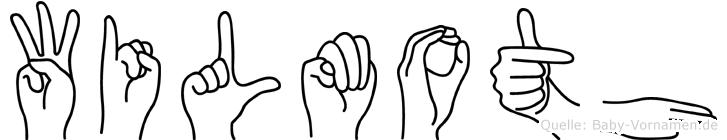 Wilmoth in Fingersprache für Gehörlose