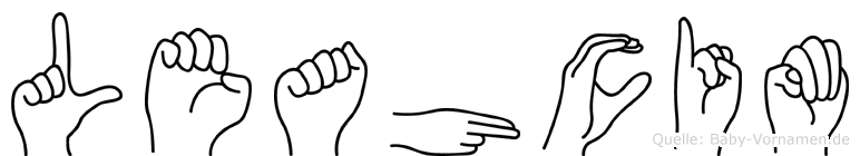 Leahcim in Fingersprache für Gehörlose