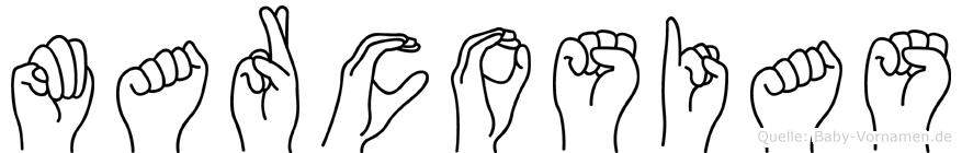 Marcosias in Fingersprache für Gehörlose