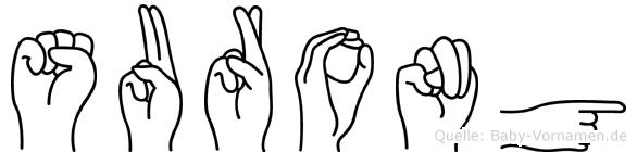 Surong in Fingersprache für Gehörlose