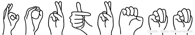 Fortrenn in Fingersprache für Gehörlose