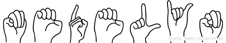 Medelyn in Fingersprache für Gehörlose