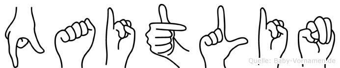 Qaitlin in Fingersprache für Gehörlose