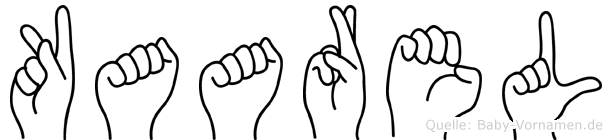 Kaarel in Fingersprache für Gehörlose