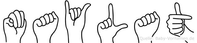 Maylat in Fingersprache für Gehörlose