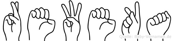 Reweka in Fingersprache für Gehörlose