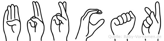 Burcak in Fingersprache für Gehörlose