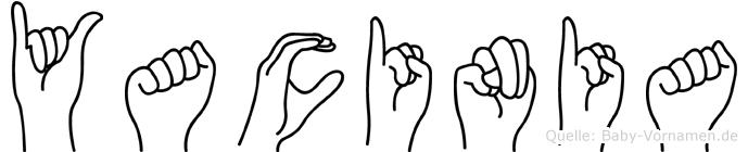 Yacinia in Fingersprache f�r Geh�rlose