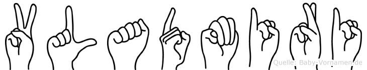 Vladmiri in Fingersprache für Gehörlose