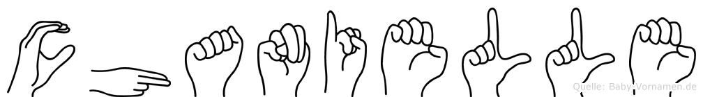 Chanielle in Fingersprache für Gehörlose