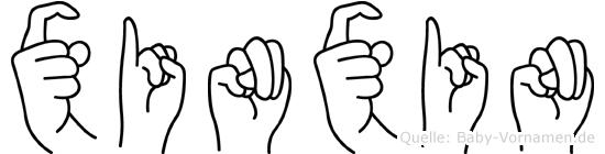 Xinxin in Fingersprache für Gehörlose