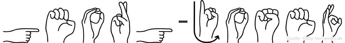Georg-Josef im Fingeralphabet der Deutschen Gebärdensprache
