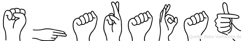 Sharafat in Fingersprache für Gehörlose