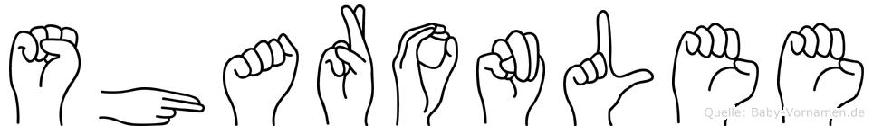 Sharonlee in Fingersprache für Gehörlose
