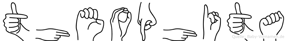 Theophita in Fingersprache für Gehörlose