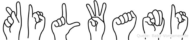 Kilwani in Fingersprache für Gehörlose