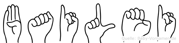 Bailei in Fingersprache für Gehörlose