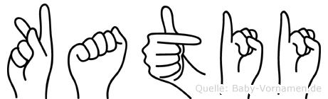 Katii in Fingersprache für Gehörlose