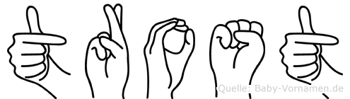 Trost in Fingersprache für Gehörlose