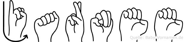 Jarnee in Fingersprache für Gehörlose