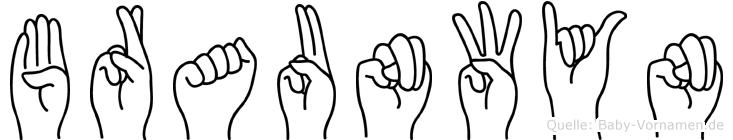 Braunwyn in Fingersprache für Gehörlose