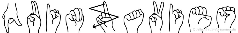 Quinzavies in Fingersprache für Gehörlose