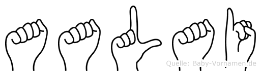 Aalai in Fingersprache für Gehörlose