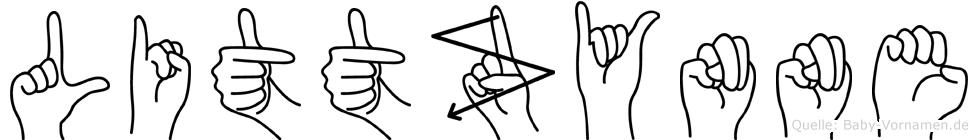 Littzynne in Fingersprache für Gehörlose