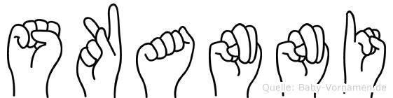 Skanni in Fingersprache für Gehörlose
