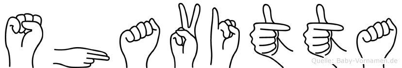 Shavitta in Fingersprache für Gehörlose