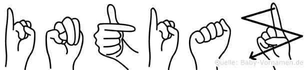 Intiaz in Fingersprache für Gehörlose