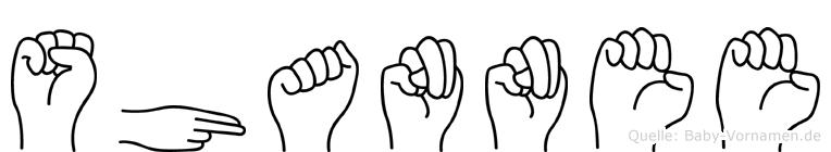 Shannee in Fingersprache für Gehörlose