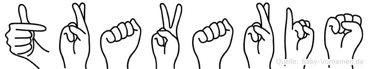 Travaris in Fingersprache für Gehörlose