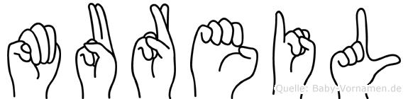 Mureil in Fingersprache für Gehörlose