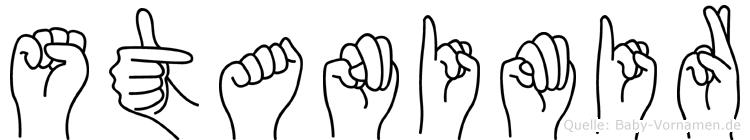 Stanimir in Fingersprache für Gehörlose